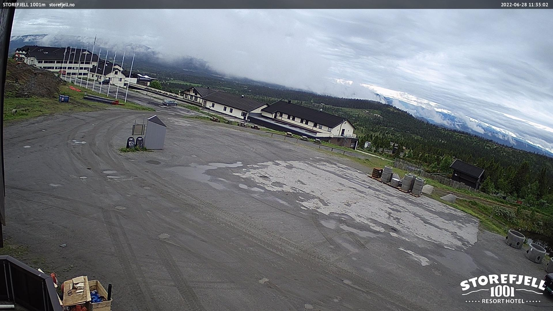 WebCam Storefjell, Golsfjellet, Hallingdal, Norge