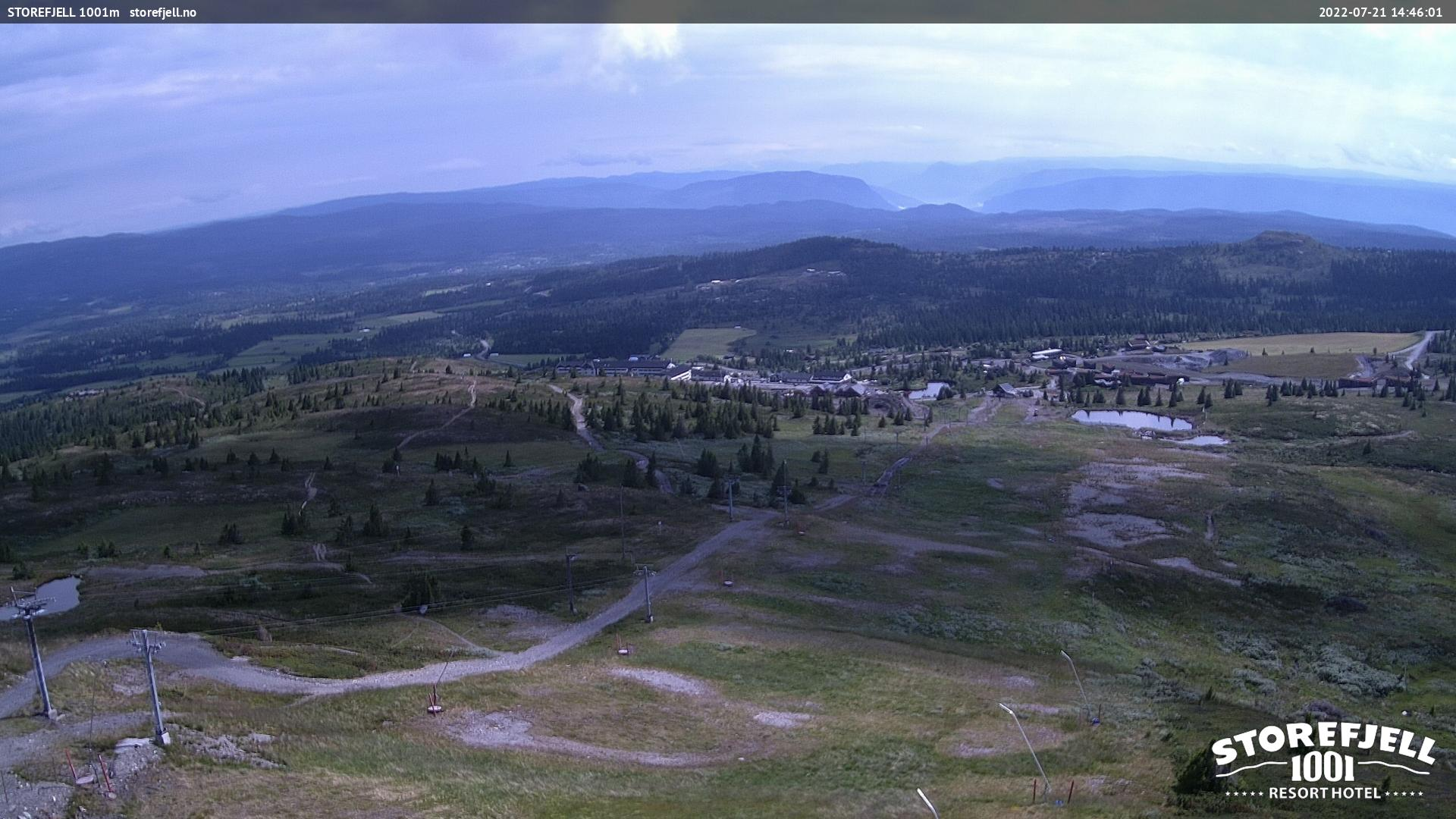 Webcam Storefjelltoppen, Gol, Buskerud, Norwegen