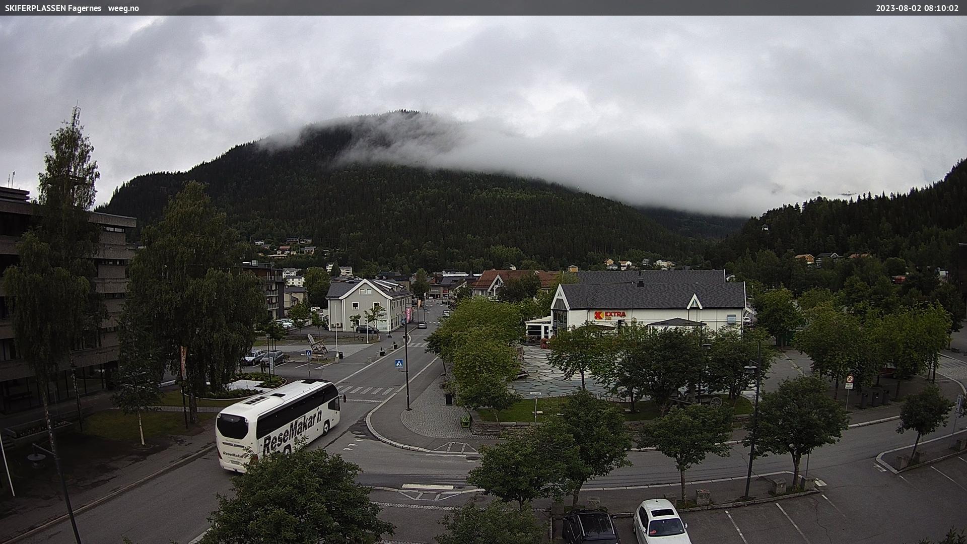 Webcam Fagernes, Nord-Aurdal, Oppland, Norwegen